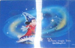 Disney Post Card - Where Magic Lives – Discontinued