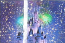 Disney Post Card - Tinker Bell Castle – Discontinued
