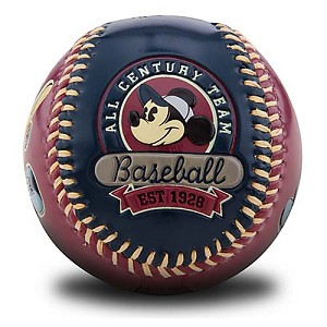 Disney Collectible Baseball - All Century Steamboat Willie