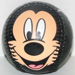 Disney Collectible Baseball - Mickey Mouse Face Ball - Disney World