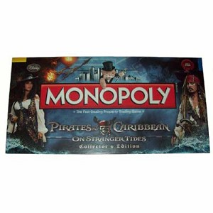 Disney Monopoly Game - Pirates of the Caribbean - On Stranger Tides