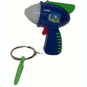 Disney Light Laser Toy - Buzz Lightyear Laser - Keychain