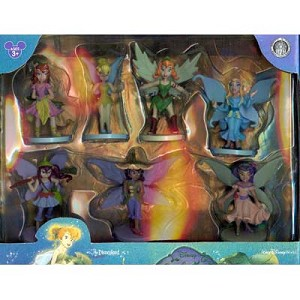 Disney Figurine Set - Tinker Bell Fairies