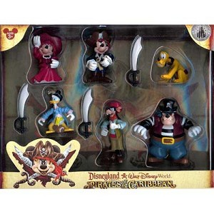 Disney Figurine Set - Pirates of the Caribbean