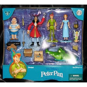 Disney Figurine Set - Peter Pan