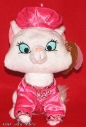 Disney Plush - Marie the Cat - Valentine's Day