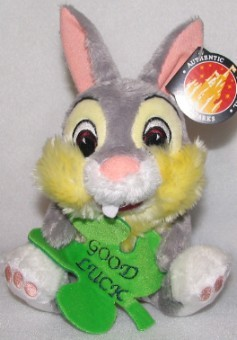 Disney Plush - Thumper - St. Patrick's Day Shamrock