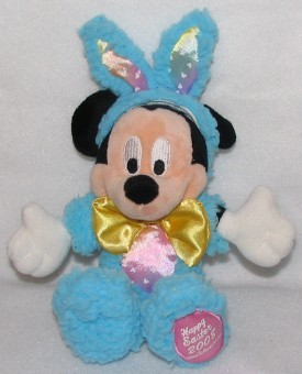 Disney Plush - Easter 2008 - Mickey Mouse Bunny