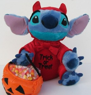 Disney Plush - Halloween - Devil Stitch Big 12 2005