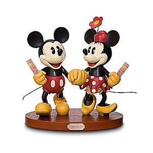 Disney Big Figure - Mickey & Minnie Mouse - A Walk in the Park