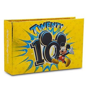 Disney Photo Album - 100 Pics - 2010 Mickey Mouse Ten Times the Fun!